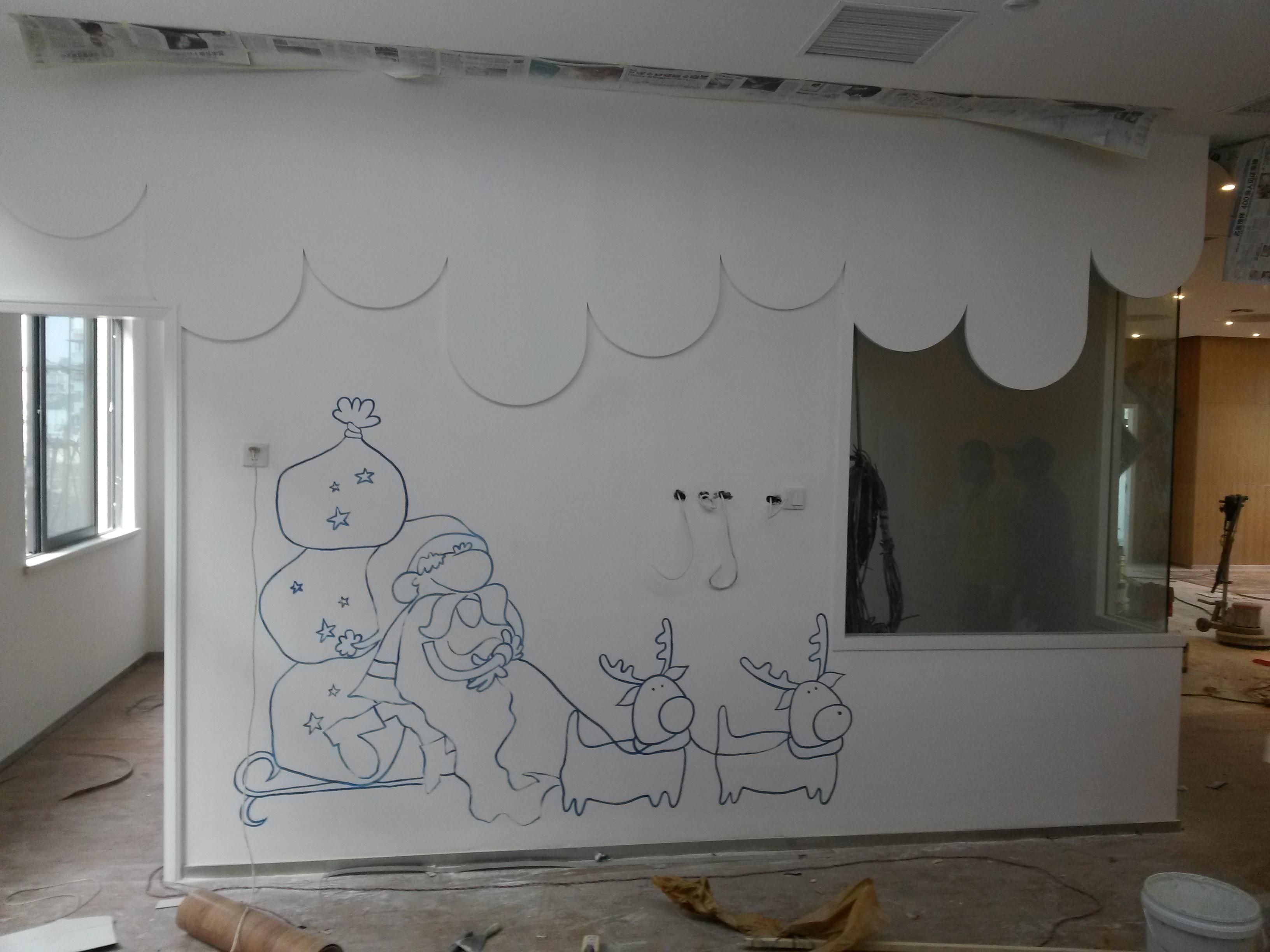 成都3d立体画墙绘 - 四川成都金鱼草墙绘公司专注